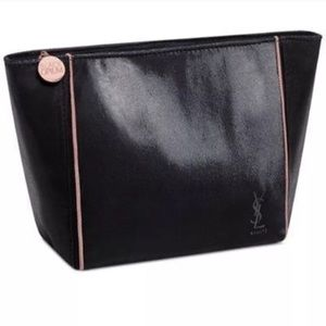 New Yves Saint Laurent large cosmetic pouch bag